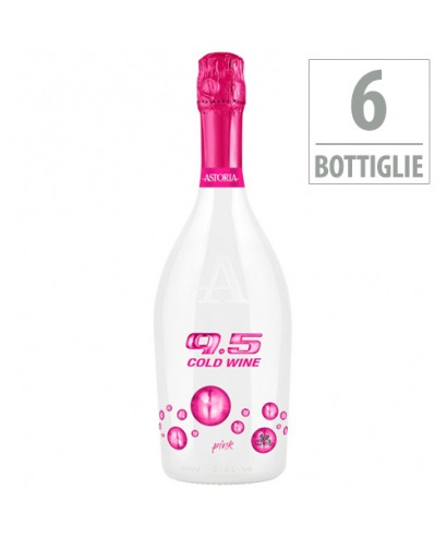 6 Bottiglie Spumante Extra Dry 9.5 Cold Wine Pink