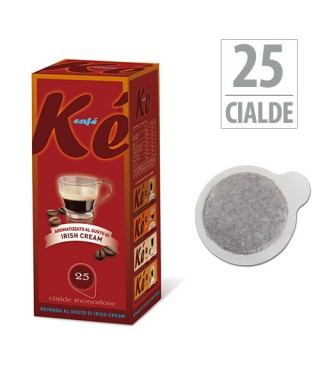 Cialde Kè Caffè 44mm IRISHCREAM - 25 Cialde