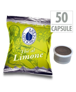 50 Capsule Borbone THE AL LIMONE Compatibili Lavazza Espresso Point